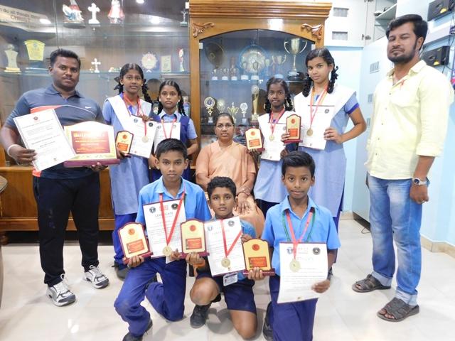 Silambam Winners